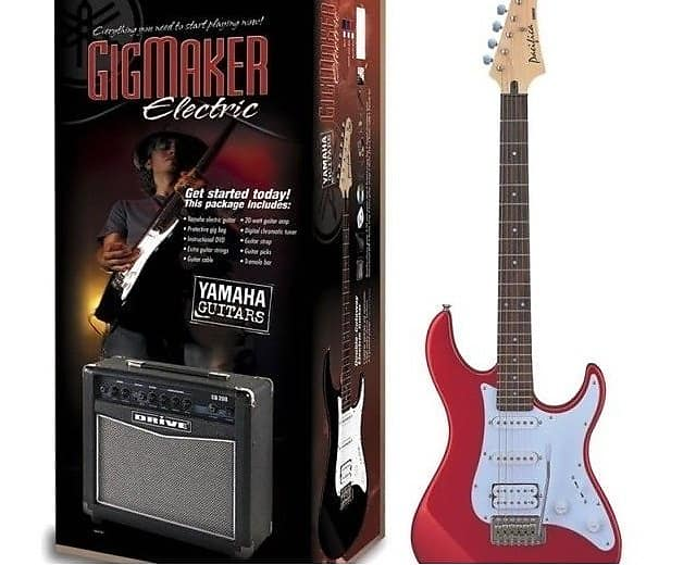 Yamaha Gigmaker Electric Guitar Package With Amplifier Old Reverb