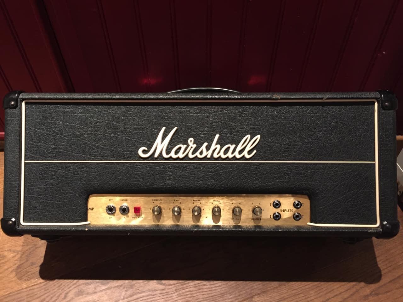 marshall jmp mkii 50 watt 1974 black reverb. Black Bedroom Furniture Sets. Home Design Ideas