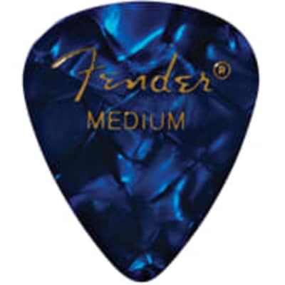 Fender Blue Moto Medium Picks, 12-pack for sale