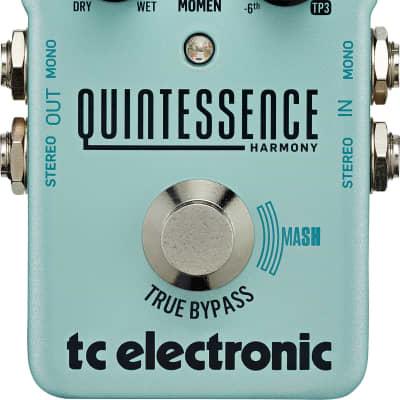 Tc Electronic Quintessence Harmonizer Effetto A Pedale Per Chitarra Elettrica for sale