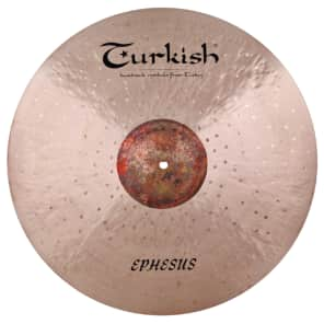 "Turkish Cymbals 22"" Custom Series Ephesus Heavy Ride ES-RH22"