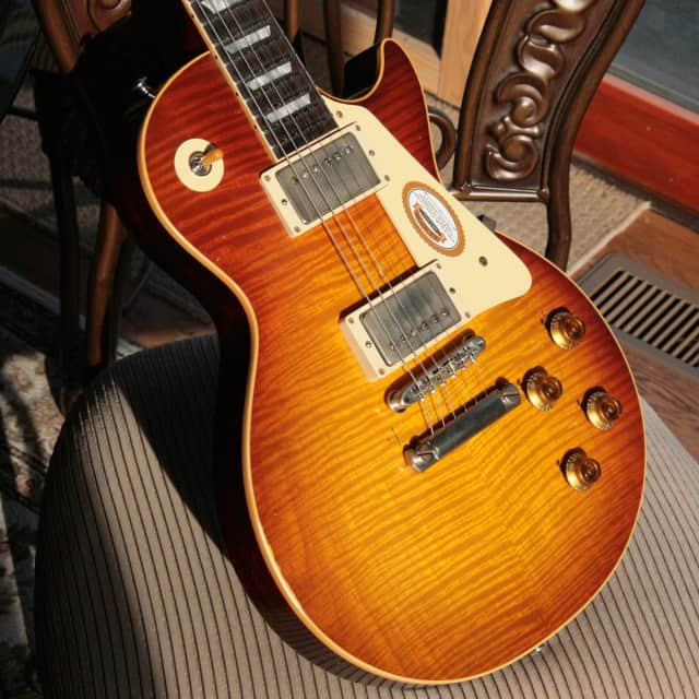 1958 Gibson CC43 Mick Ralphs Les Paul True Historic Specs! Aged Historic Reissue Collectors Choice 1959 59 image