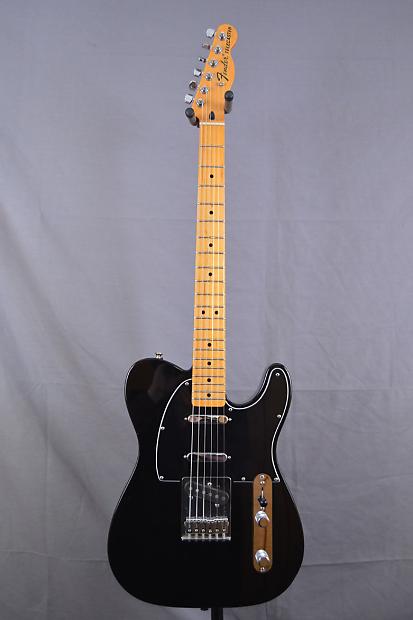 Fender Telecaster 3 pickup MIM 2008 Black | Reverb