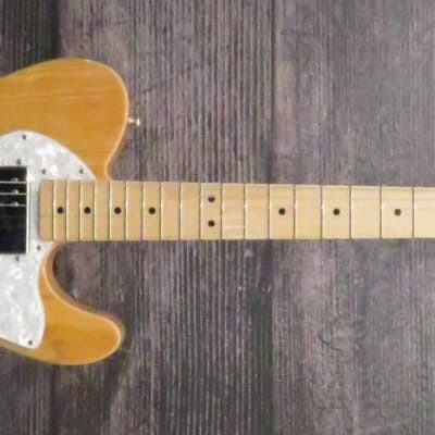 Fender '72 Telecaster Thinline 2015 Natural for sale