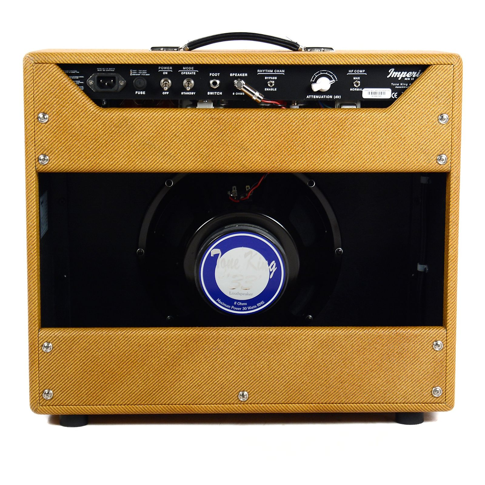 Tone King Imperial MKII 20W 1x12 Combo Lacquered Tweed (CME Exclusive)