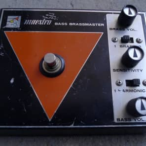 Maestro Bass Brassmaster BB-1 70's Vintage Rare Fuzz for sale