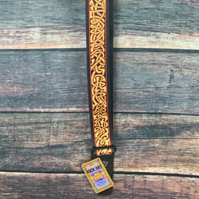 "Lock-it Straps 2"" Wide Bob Masse Artist Series Strap- Harvest Twist"