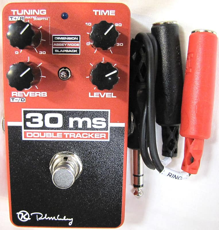 used keeley 30ms double tracker delay guitar effects pedal reverb. Black Bedroom Furniture Sets. Home Design Ideas