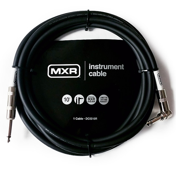 Dunlop Mxr Dcis10r Standard Instrument Right Angle