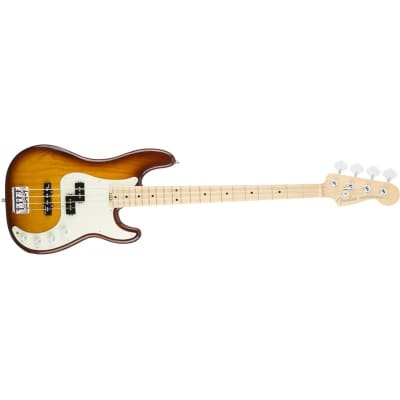 Fender American Elite Precision Bass Ash, Maple, Tobacco Burst for sale
