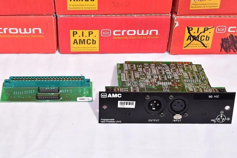 CROWN AMC P.I.P PROGRAMMAGLE INPUT PROCESSOR CARD #6480
