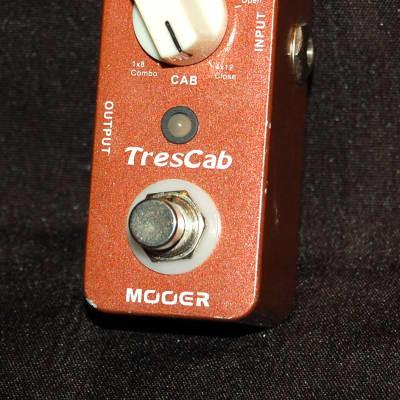 Mooer MTC1 TresCab Speaker Simulator Micro Pedal Tres Cab