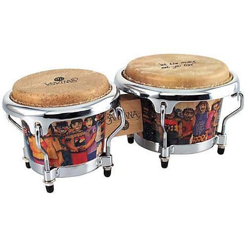 Global Views Lp: Latin Percussion LPM200AW Santana Mini Tunable Bongo