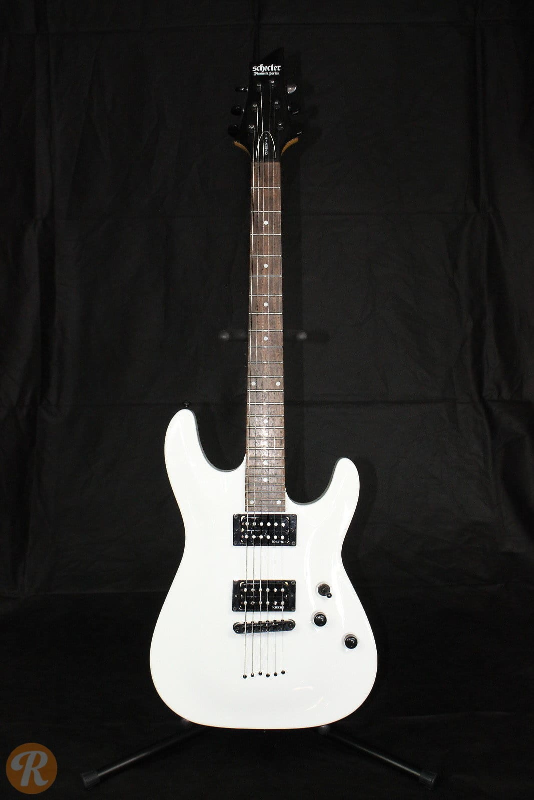 Schecter Diamond Series Omen  White