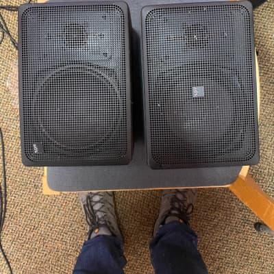 ADS L300C metal frame indoor/outdoor speakers Black Metal