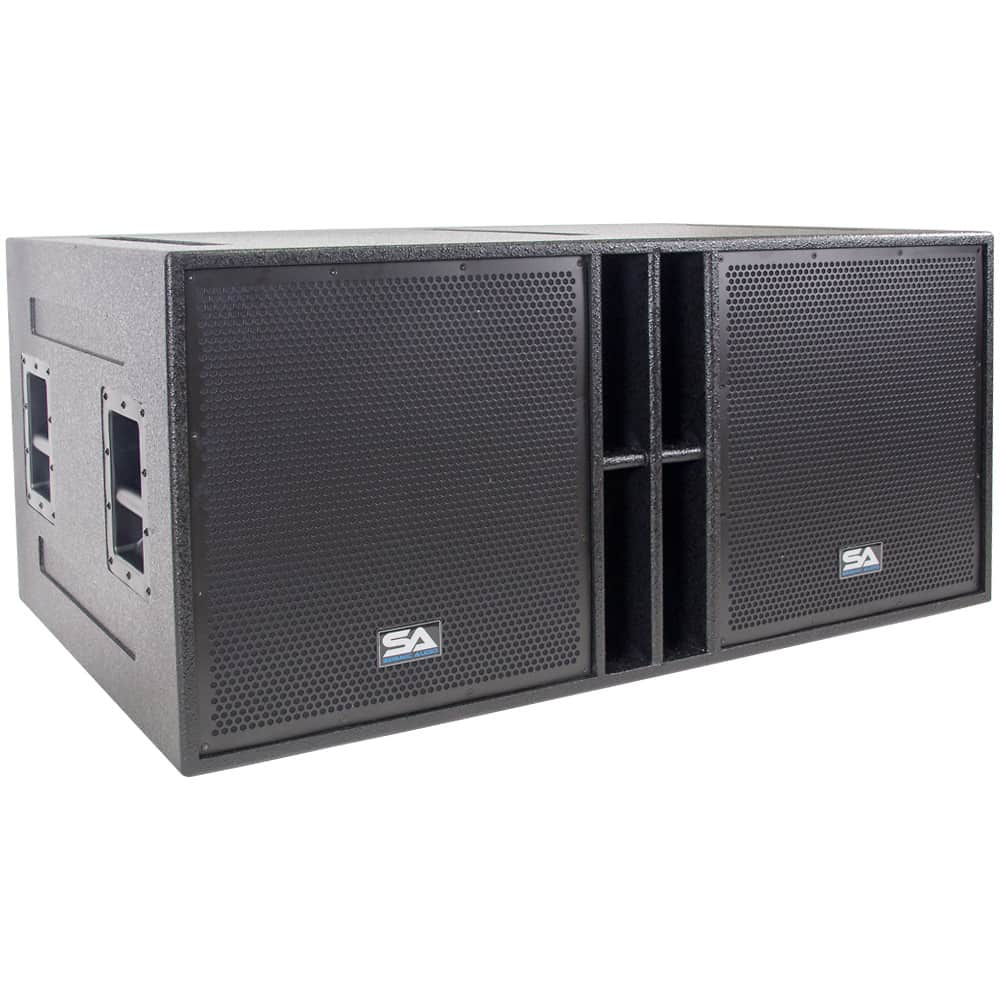 Subwoofer Box Design For 12 Inch >> The Quad-18 - 4 x 18 Inch Subwoofer Cabinet - 4 x 18 Bass | Reverb