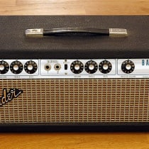 Fender Bassman 50 Head and Cabinet 1975 Silverface image