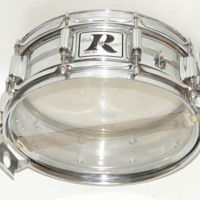 Vintage Rogers 5 x 14 Big R Snare Drum 5 Lines 10 Lugs