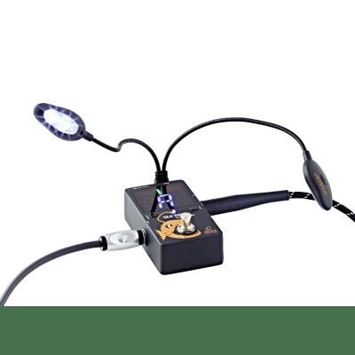 Ortega Sea Devil Pedal Tuner and USB Connectable LED Lights for sale