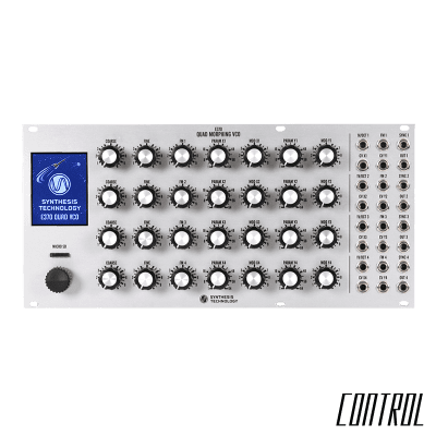 Synthesis Technology E370 Quad Morphing VCO (Silver) (Pre-Order)