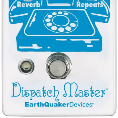 Earthquaker Devices Dispatch Master V3 Delay & Reverb Pedal for sale