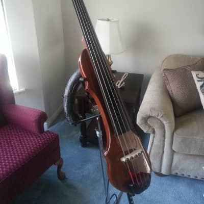 Clevinger  Concerto 6 String Upright Electric Bass 2009 Natural Flamed Maple for sale