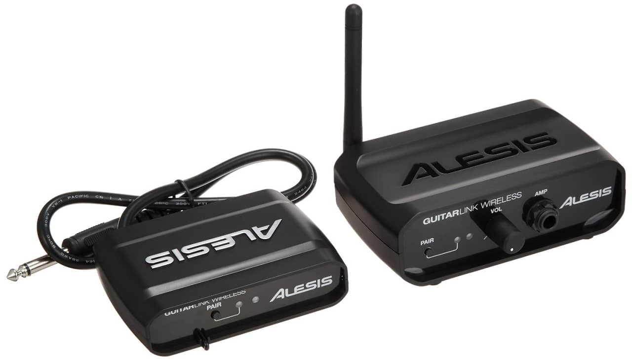 Alesis Guitar Link Wireless Portable System Reverb