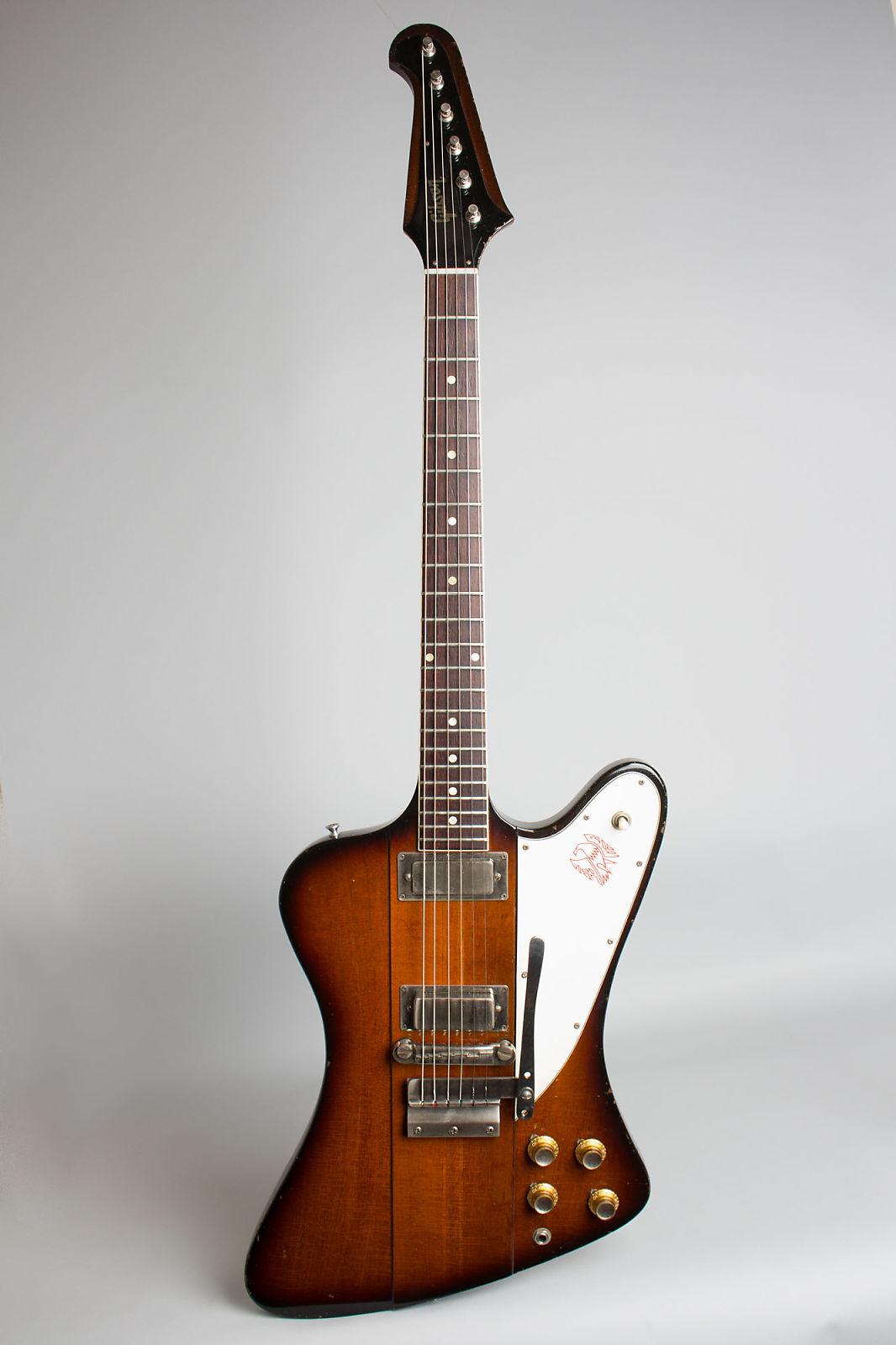 Gibson Firebird Iii Solid Body Electric Guitar 1964 Ser 153616