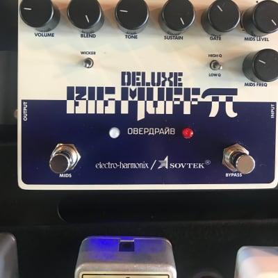 Electro-Harmonix Sovtek Deluxe Big Muff Pi 2018