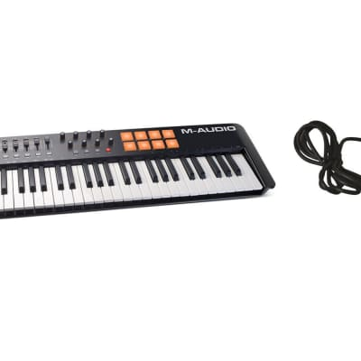 M-Audio Oxygen 61 IV USB Keyboard Controller Bundle with Sustain Pedal