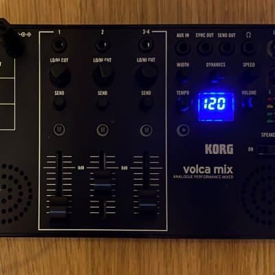 Korg Volca Mix 4-Channel Performance Mixer (IN THE BOX!)