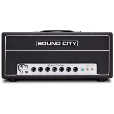 Sound City Master Lead 50 Guitar Amplifier Head (50 Watts) for sale