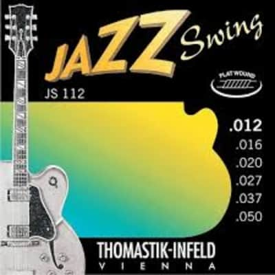 Thomastik-Infeld  JS112 Jazz Swing Flat Wound Set, 12-50