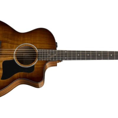 Taylor 224CE-K-DLX Grand Auditorium Electric Acoustic Guitar Solid Koa Top Serial #2111019229 4.8lbs