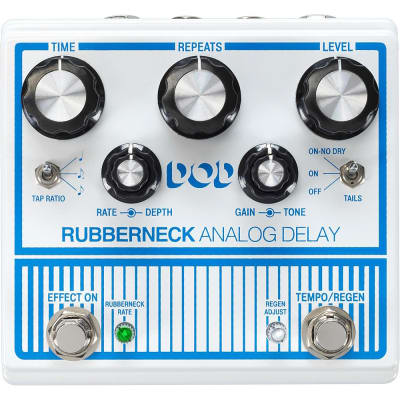 DOD Rubberneck Analog Delay Pedal with Tap Tempo Regular for sale