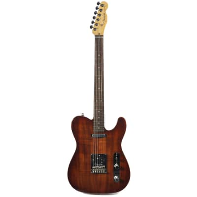 Fender American Select Carved Top Koa Telecaster