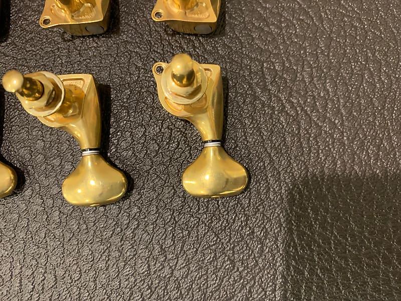 gotoh 510 tuners 21 1 ratio x gold satin finish reverb. Black Bedroom Furniture Sets. Home Design Ideas