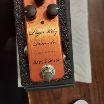 One Control Tiger Lily Tremolo for sale
