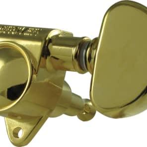 Tuning machine - Grover Rotomatic Original, 3 per side, gold