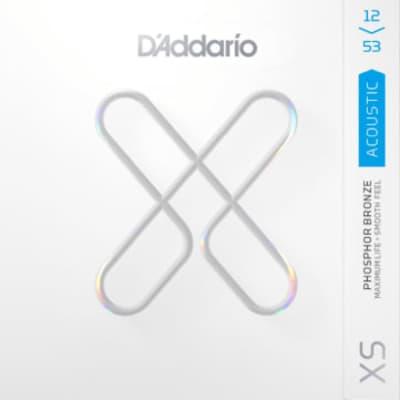 D'Addario XS Acoustic Phosphor Bronze Strings Light 12-53 XSAPB1253