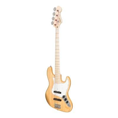 Tokai Vintage Series AJB118 'Jazz Sound' J-Style Electric Bass (Natural) for sale