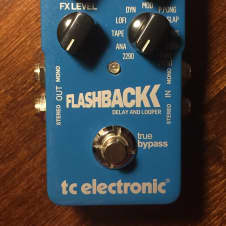 TC Electronic Flashback Delay/Looper Excellent Condition