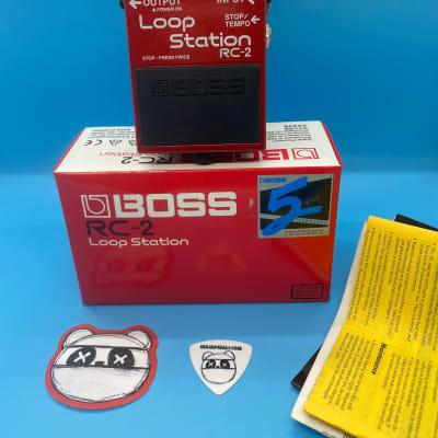 Boss RC-2 Loop Station w/Original Box | Fast Shipping!