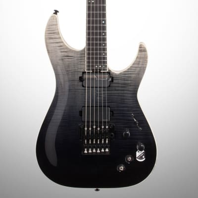 Schecter C-1 FR S SLS Elite Electric Guitar, Black Fade Burst for sale