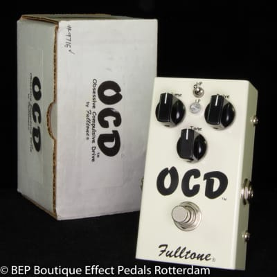 Fulltone OCD V1 Series 3 Obsessive Compulsive Drive s/n 14584, 2007 as used by Keith Richards
