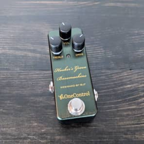 One Control Hooker's Green Bass Machine for sale