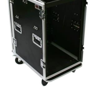 OSP MC12U-20SL 20U Mixer/Amp Rack ATA Flight Case
