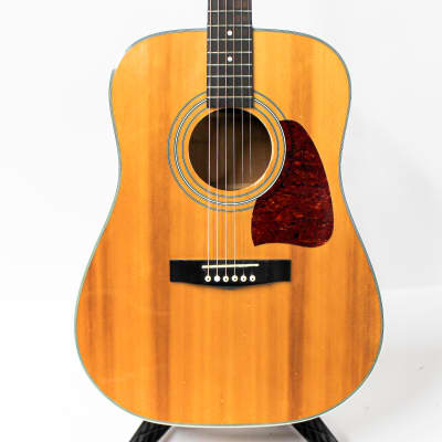 1998 Ibanez AW100 AW 100 Dreadnought Acoustic Guitar - Natural for sale