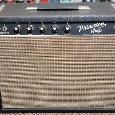 vintage 1965 Blackface Fender Princeton, All Original! Collector Grade! Excellent Condition! for sale