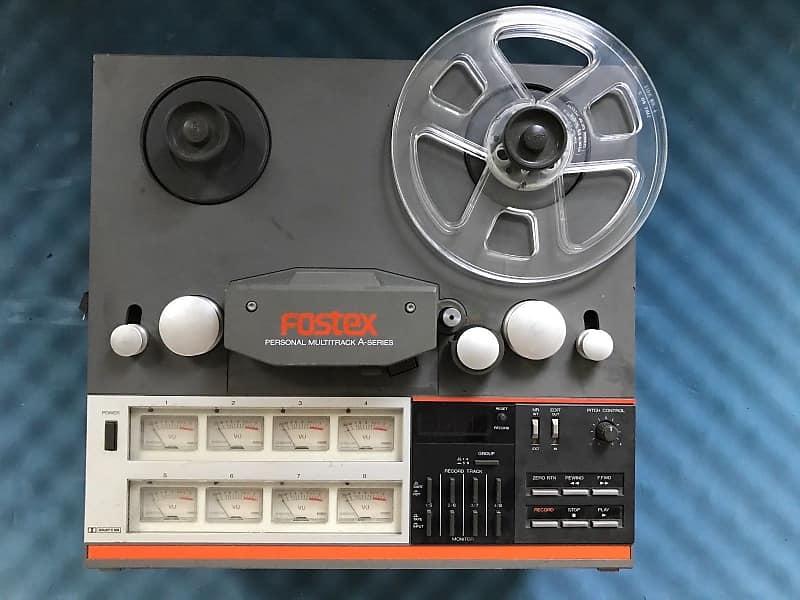 Fostex A8 8-Track Reel to Reel Recorder   Donny's Gear Bazaar